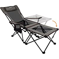 XGEAR 2019 Upgraded Ultralight Portable Folding Camping Chair Compact for Outdoor Camp, Travel, Beach, Picnic, Festival…