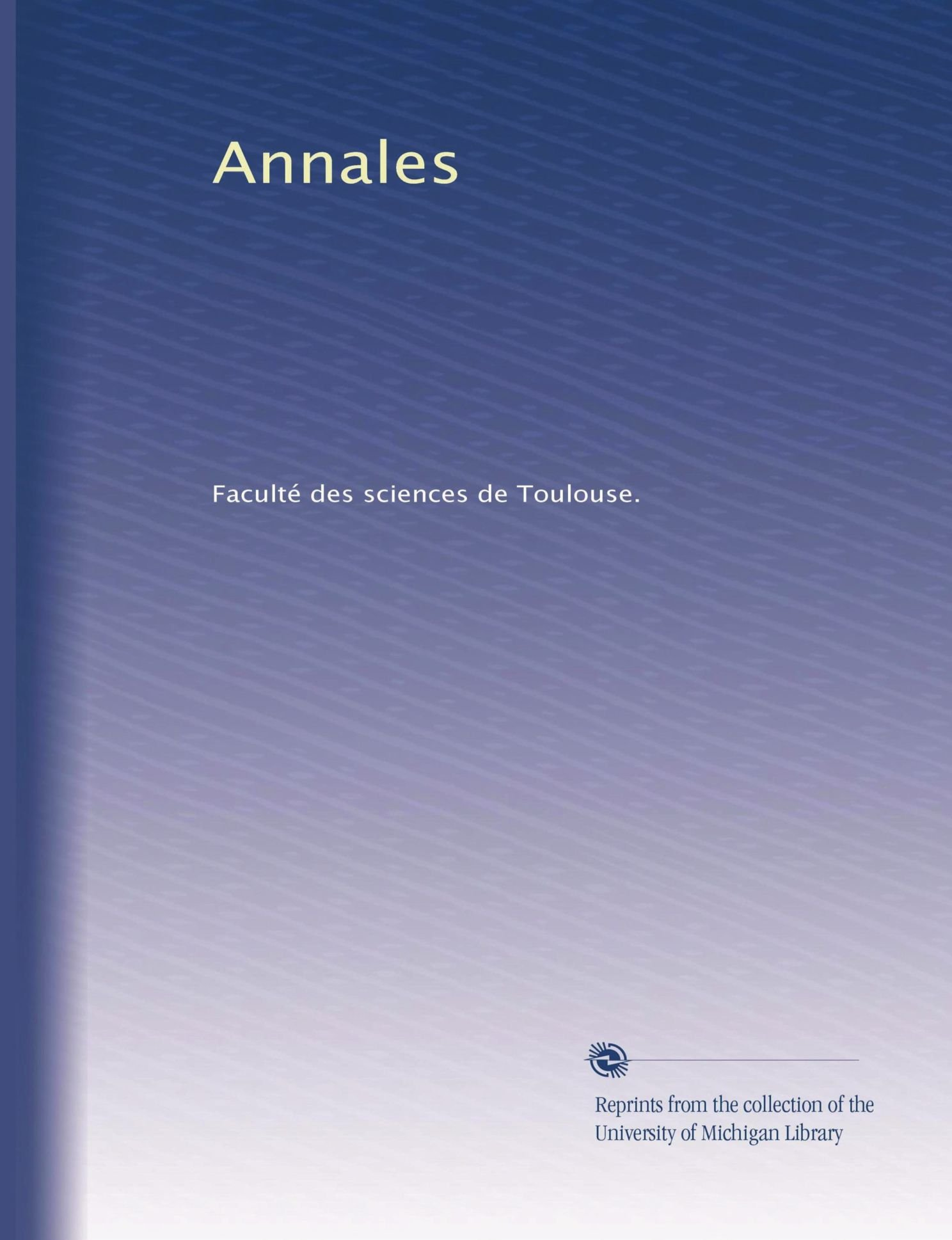 Download Annales (Volume 20) (French Edition) ebook