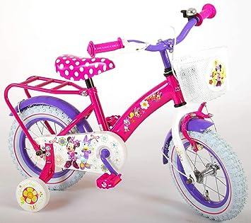 Disney Bicicleta Infantil Niña Chica 12 Pulgadas Minnie Mouse ...