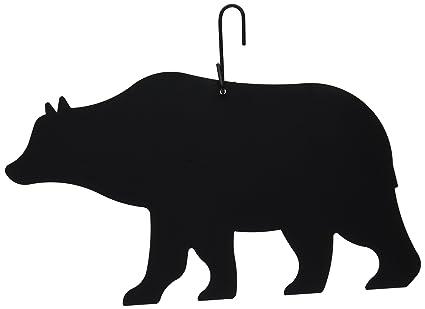 amazon com 14 inch bear decorative hanging silhouette home kitchen