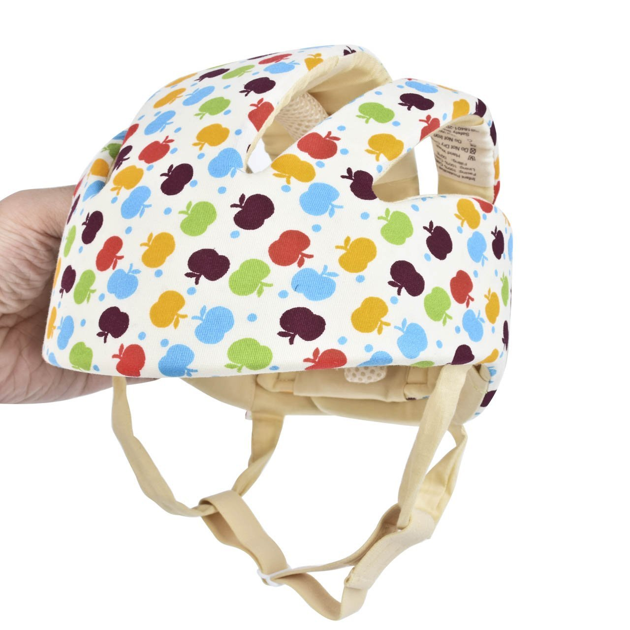 Orange magiin Baby Helmet Schutzhelm Babyhelm Helmm/ütze Kopfschutzm/ütze gegen St/ö/ße f/ür Kleinkind aus Weicher Baumwolle Verstellbar Sto/ßfest