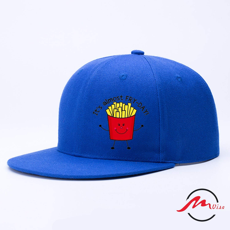 ZMvise Fry Day French Fries Gorra de béisbol de ala Plana para ...