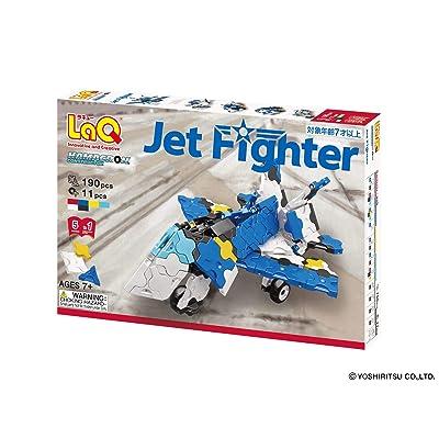 LaQ Jet Fighter Building Kit: Toys & Games