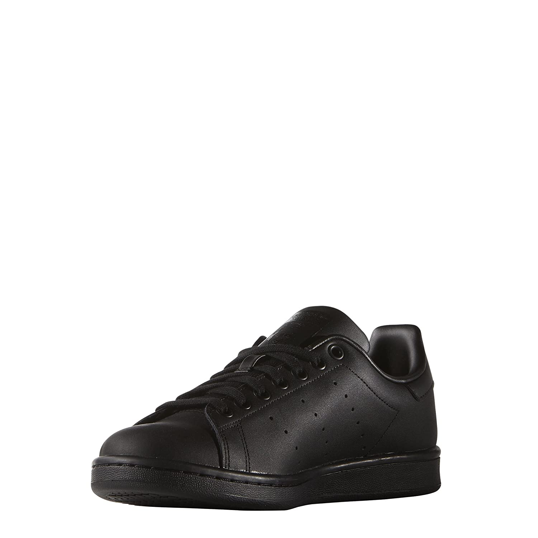 Adidas Originals Stan Smith, Zapatillas de Deporte Unisex Adulto 38 EU Negro (Schwarz)
