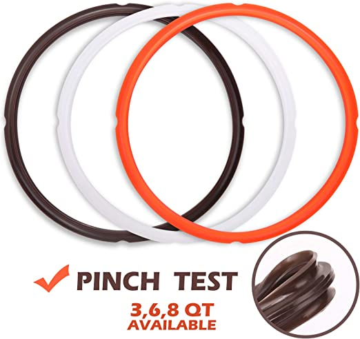 Pack of 1 Silicone Sealing Rings for Instant Pot 5//6 Qt Accessories NEW