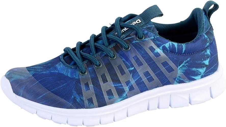 Zapatillas Running DESIGUAL Classic Bio Azul 37 Azul: Amazon.es ...