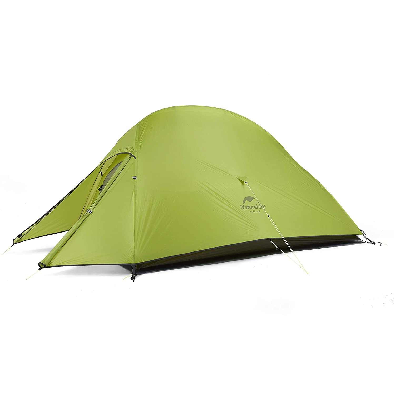 Naturehike Tienda de campaña Mejorar Cloud Up 2 Persona Tienda de Trekking Ultraligero Impermeable ... (20D Verde Claro): Amazon.es: Deportes y aire libre