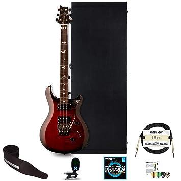 PRS SE Custom 24 Floyd guitarra eléctrica con ChromaCast accesorios