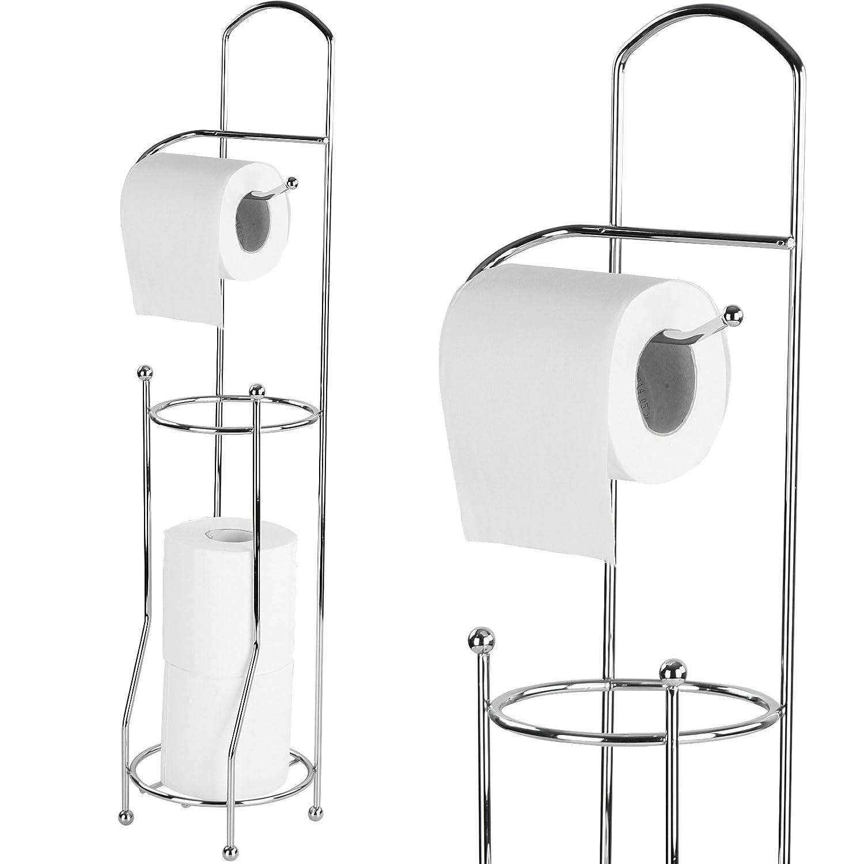 porta carta bagno portarotoli bagno porta carta igienica porta rotoli bagno fino 4 rotoli in acciaio amazonit fai da te