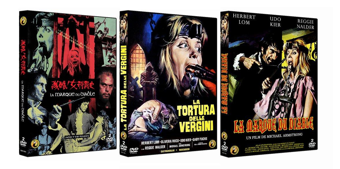 Amazon.com: La Marque du diable - Edition limitée 2DVD - 666 ex + sac à vomi (1990): Movies & TV