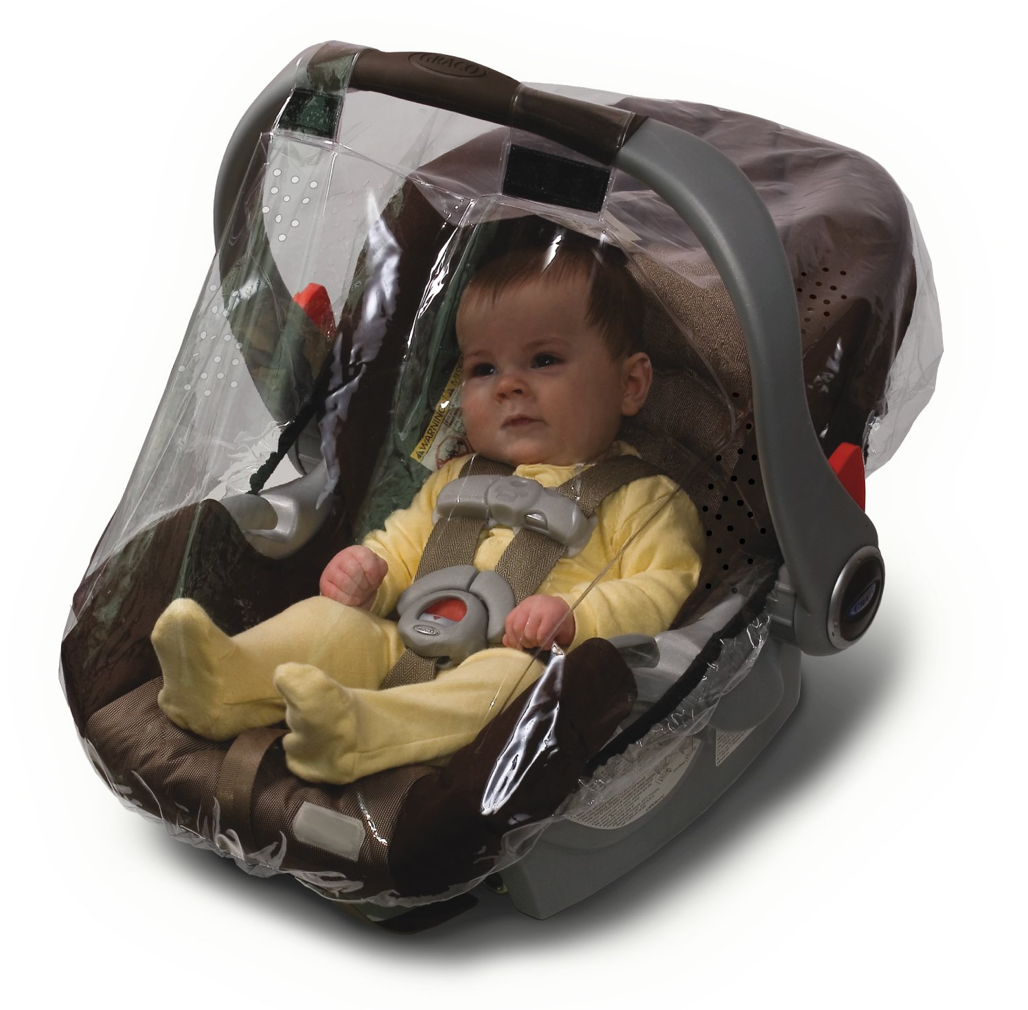 Jolly Jumper Weathershield for Infant Car Seat - Protects Baby From Rain, Sleet, Snow & Wind - Phthalate Free 298