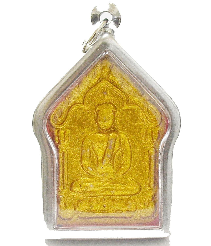 Dhama Jewelry Amulets Thai Amulets Phra Khunpaen Amulets Clay Pra Khun Phan Lp.tim Thai Buddha Amulet
