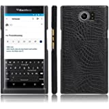 Zshion for BlackBerry Priv Case,Croco Premium PU Leather Protective Cases Simple Deurable and Lightweight Case for…