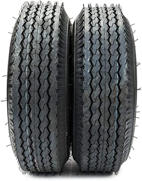 Amazon.com: 2 neumáticos para remolque de 4,80-8 de carga B ...