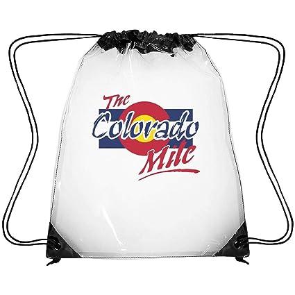 Zhdashaiff Bolsas De Plástico Transparente Con Cordón Ajustable