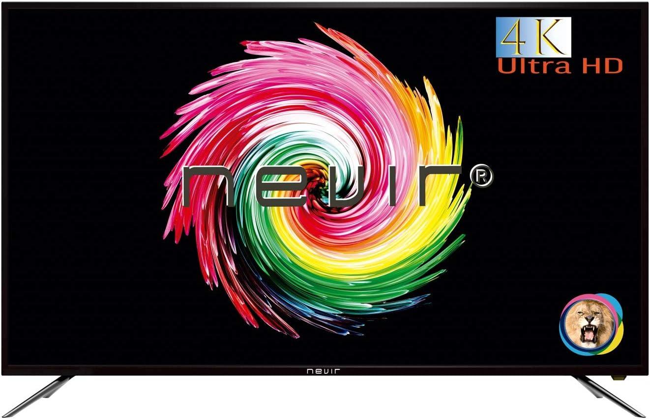 Nevir - TV Led 65 - Nevir Nvr-7903-654K2-N, Uhd 4K, Hdmi, Función Hotel, Tdt2, Timeshift: 534.06: Amazon.es: Electrónica
