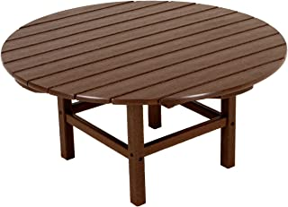 """product image for POLYWOOD RCT38MA Round 38"""" Conversation Table, Mahogany"""