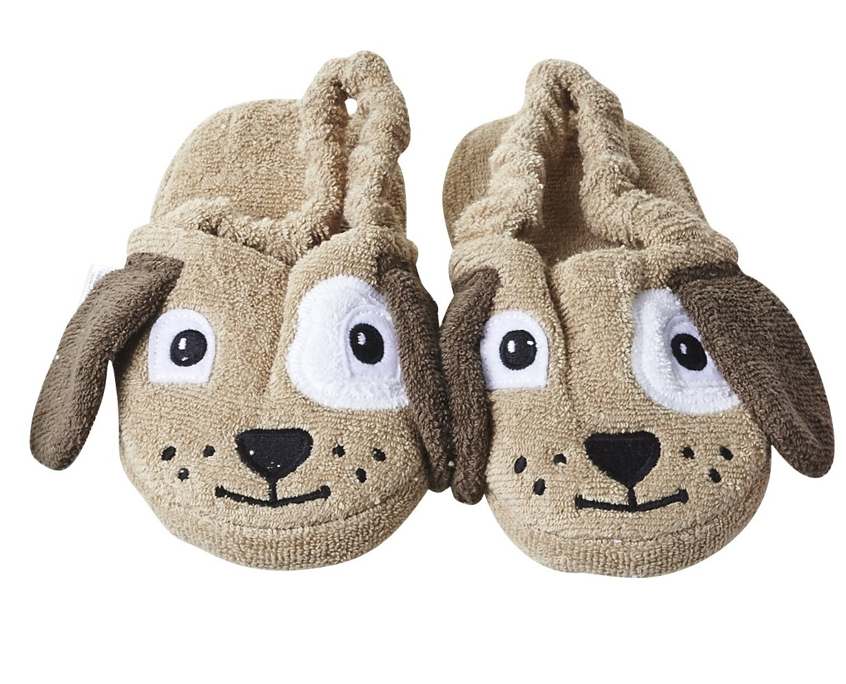 Yikes Twins Children's Slippers - Puppy (Ages 4-6)