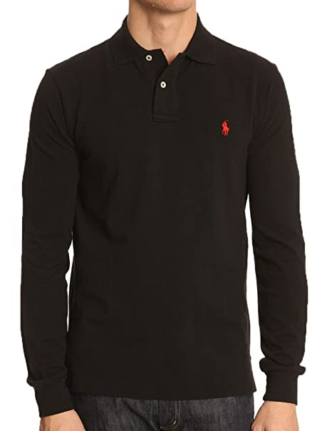 4aec2248a Ralph Lauren Men's Polo Shirt - Black - One Size: Amazon.co.uk: Clothing