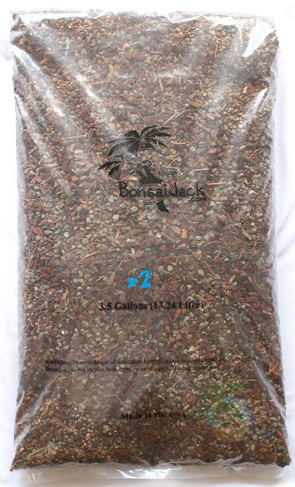Bonsai Jack Succulent and Cactus Soil Gritty Mix #111-7 Gallons - Fast Draining - Zero Root Rot - Optimized pH by Bonsai Jack