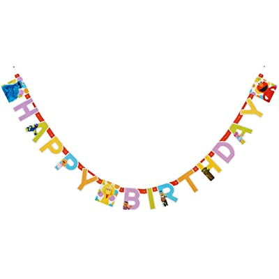 AMERICAN GREETINGS Elmo Birthday Party Banner: Toys & Games