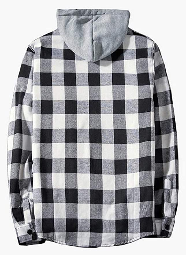 WAWAYA Women Loose Fit Plaid Print Zipper Long Sleeve Casual Pullover Sweatshirt Top