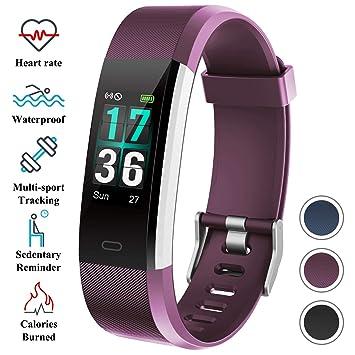 Pulsómetro Actividad Ip68 Itshiny Impermeable Deportiva Smartwatch Hombre MujerInteligente Reloj Podómetro Pulsera srdCthQ