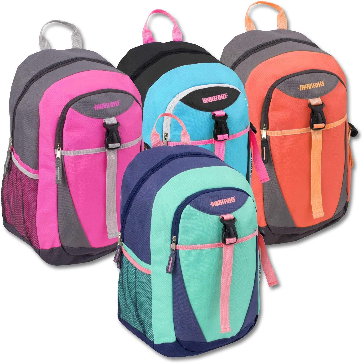 Urban Sport 18' Clip Pocket Backpack - Assorted Colors(pack Of 24)