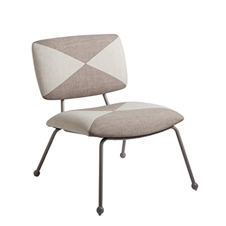 Now House By Jonathan Adler Matteo Upholstered Chair Accent, Praline by Now House By Jonathan Adler