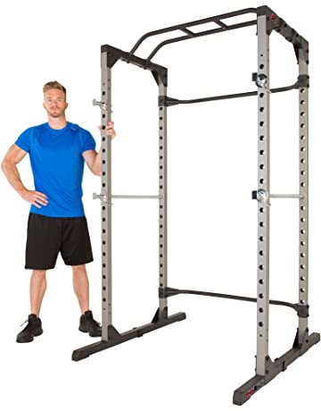 Fitness Reality 810XLT Super Max Power Cage with Optional Lat Pull-down Attachment