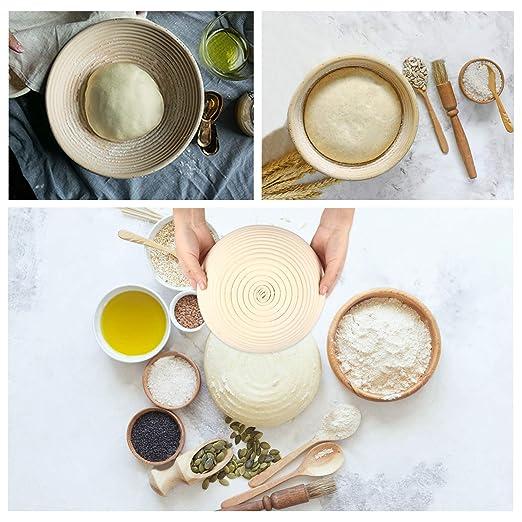 Canasta para pan, fermentación de la masa, 10