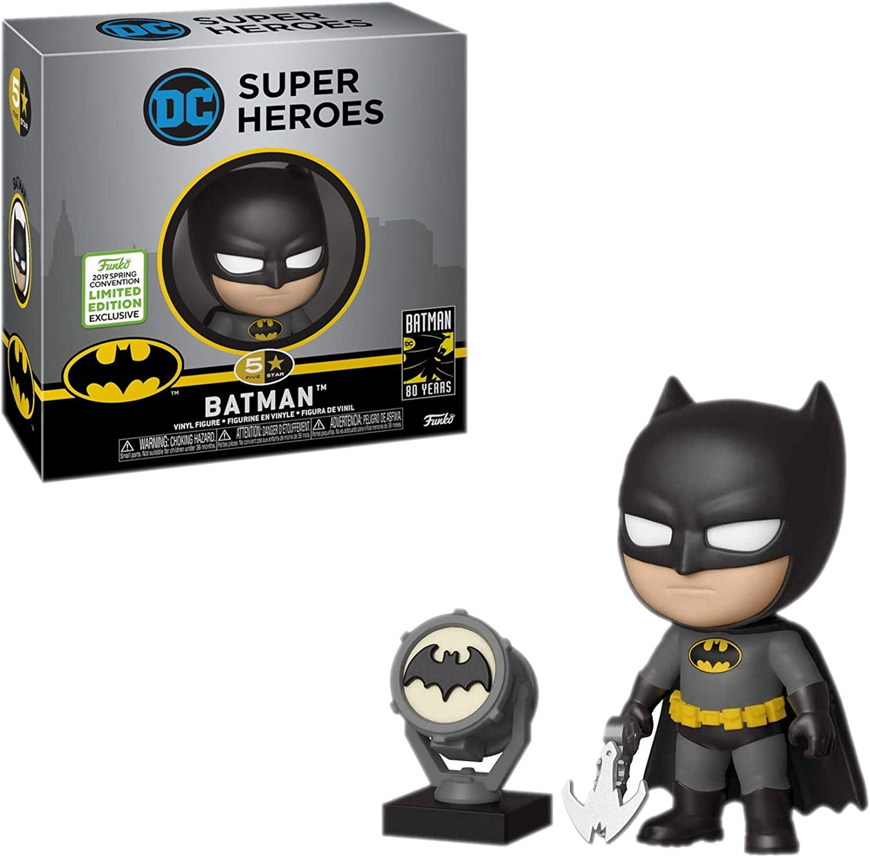 Figura Batman, 9 cm. 5 Star. DC Classics. Funko Exclusivo: Amazon.es: Juguetes y juegos