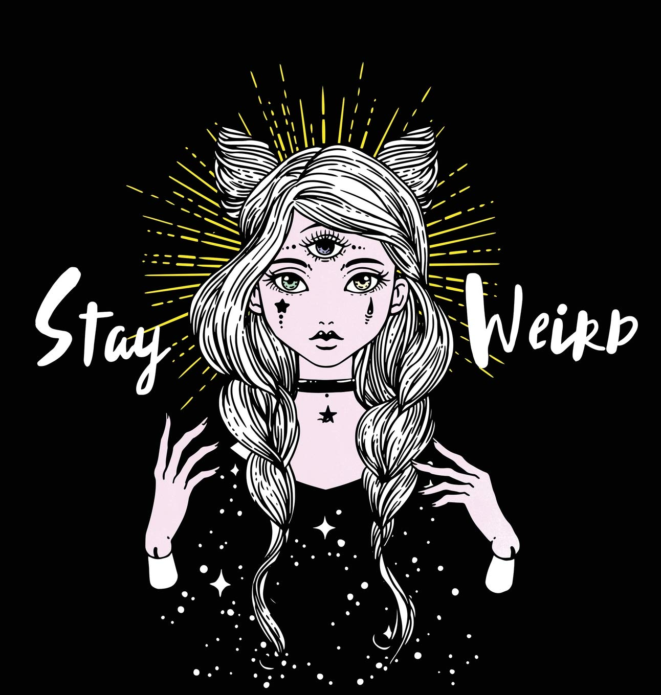 - Stay Weird: A Surreal Coloring Book For Lovers Of All Things