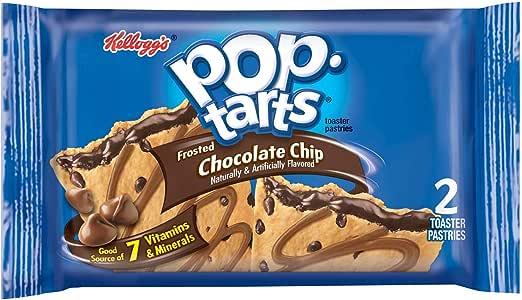 Kellogg's Pop Tarts Choc Chip Toaster Pastries 6 Piece, 104 g