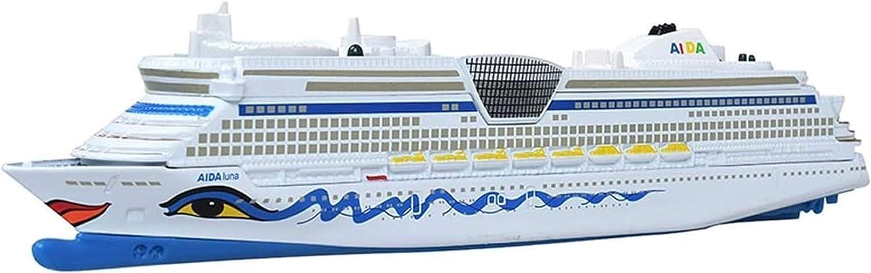 Alivisa Druckgie/ßtechnik Coche Modelo del Coche Modelo de Coche de aleaci/ón de Accesorios Barco Crucero para ni/ños Barco de Juguete cruceros Mejores Regalos para los ni/ños
