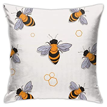 Amazon.com: Osvbs Bee Pattern Funny Colorful Bees Flying ...
