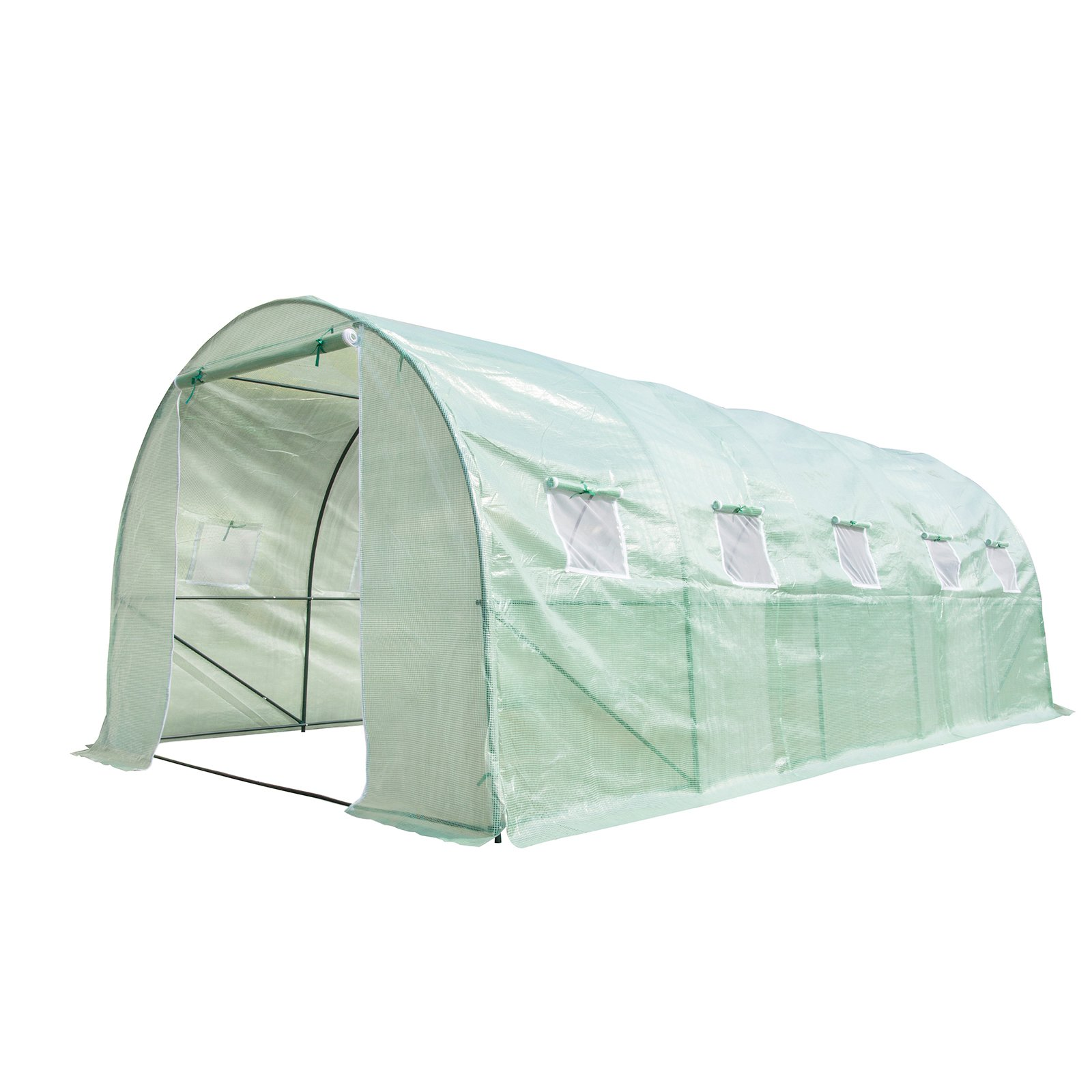 CASUN GARDEN 20'X10'X7' Outdoor Walk-in Portable Greenhouse Tunnel Garden Green House