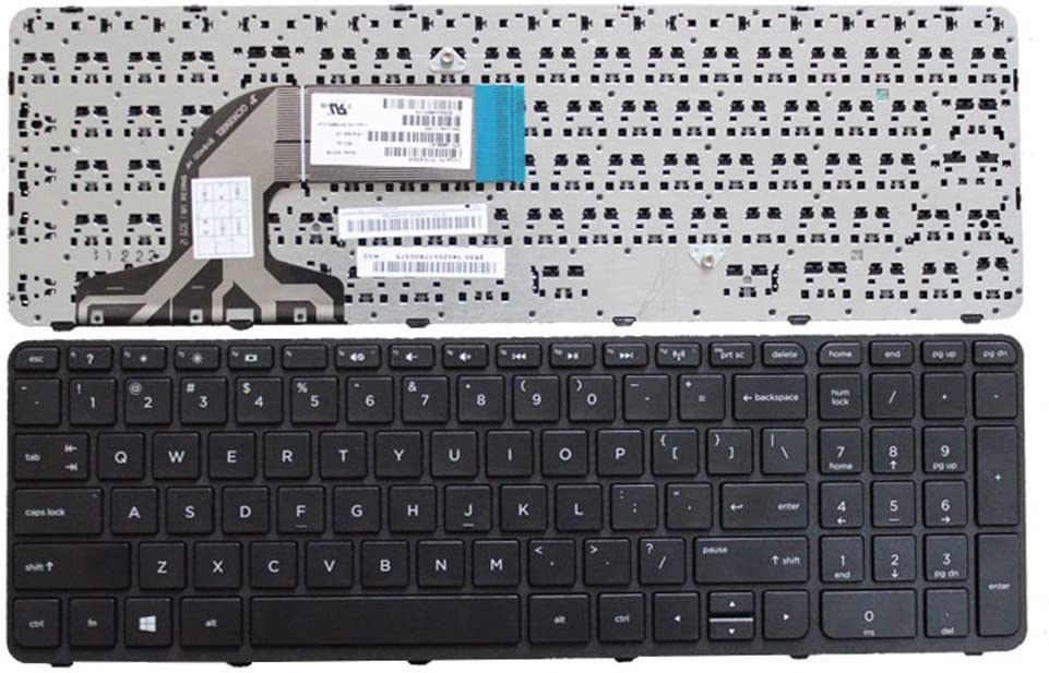 New Laptop Replacement Keyboard for HP Pavilion PK1314D3A05 SG-59830-XAA SG-59820-XAA 9Z.N9HSC.601 PK1314D1A00 NSK-CN6SC 15-F019DX 15-F023WM 15-F024WM 15-R 15-r011DX 15-R029WM 15-R063NR US Layout