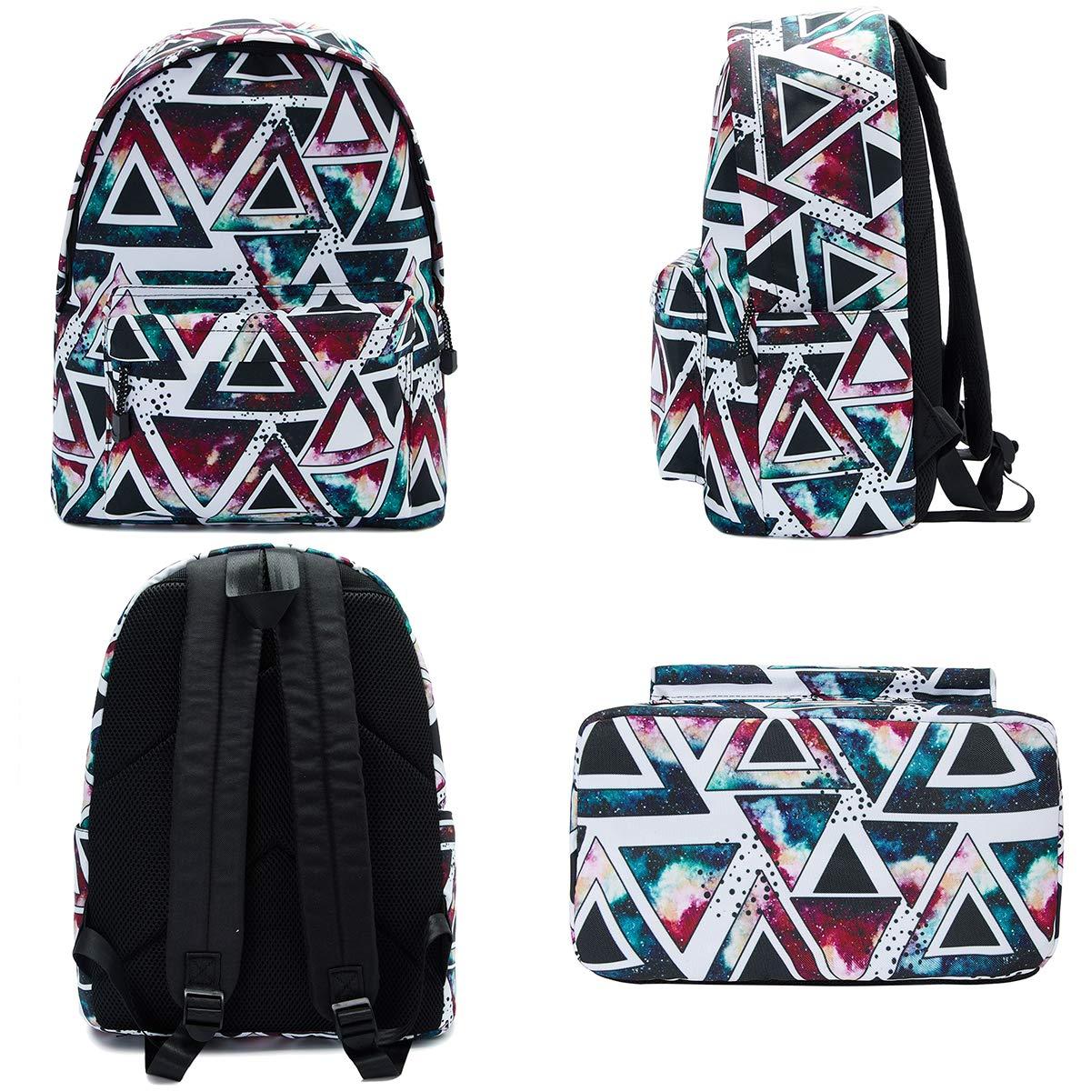 TUONROAD Schulrucksack Teenager Modischer Kaktus Freizeitrucksack Schulrucksack Aufdruck Rucksack Daypack Laptop Tasche Backpack
