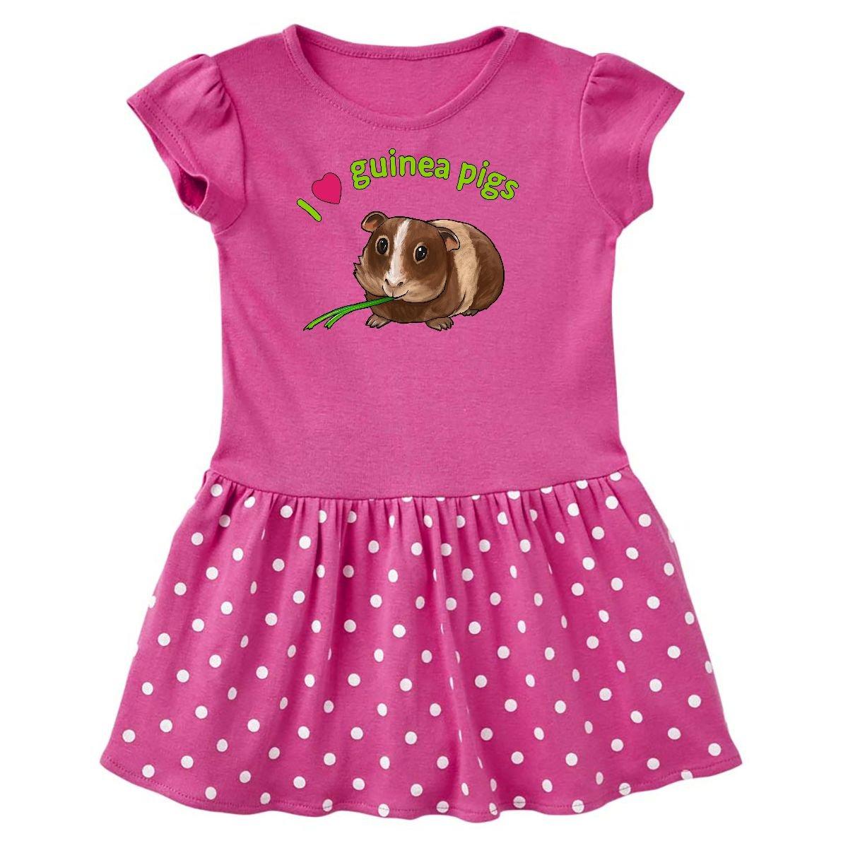 inktastic - I Love Guinea Pigs Toddler Dress 14-167769-198