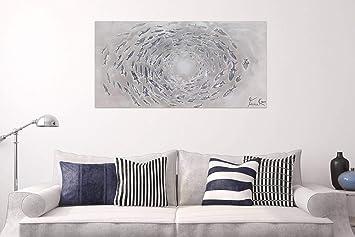 Kunstloft® Cuadro en acrílico Cerrando la Brecha 140x70cm ...
