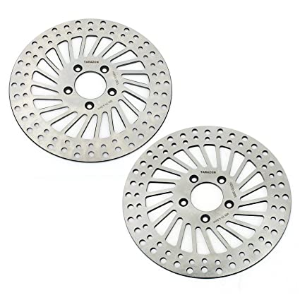 TARAZON Front and Rear Brake Rotors for Harley Davidson Dyna 2000 up  Sportster 883 1200 2000-2013