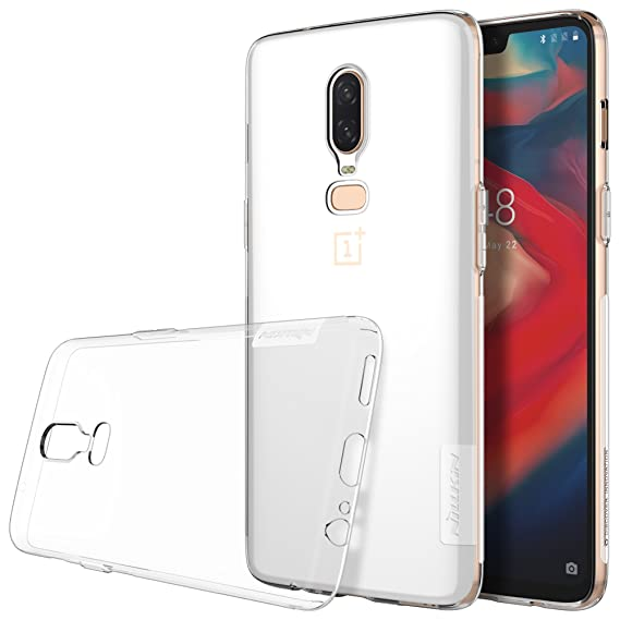 los angeles a3949 5f905 Oneplus 6 Case, Nillkin Nature Series Clear Soft TPU Case Back Cover [Ultra  Thin] [Slim Fit] for Oneplus 6 - Clear