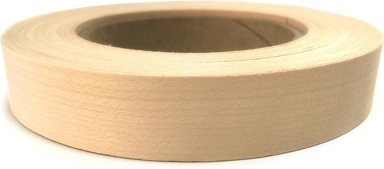 """Birch Pre Glued 5//8""""x50' wood Veneer Edge Banding"""