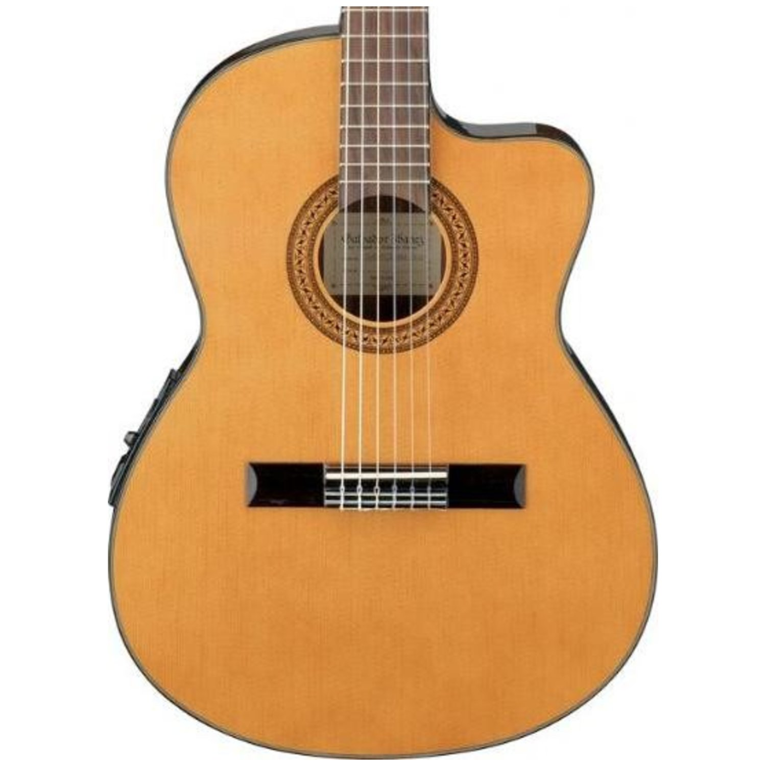 ibanez ga5tce classical acoustic electric guitar w