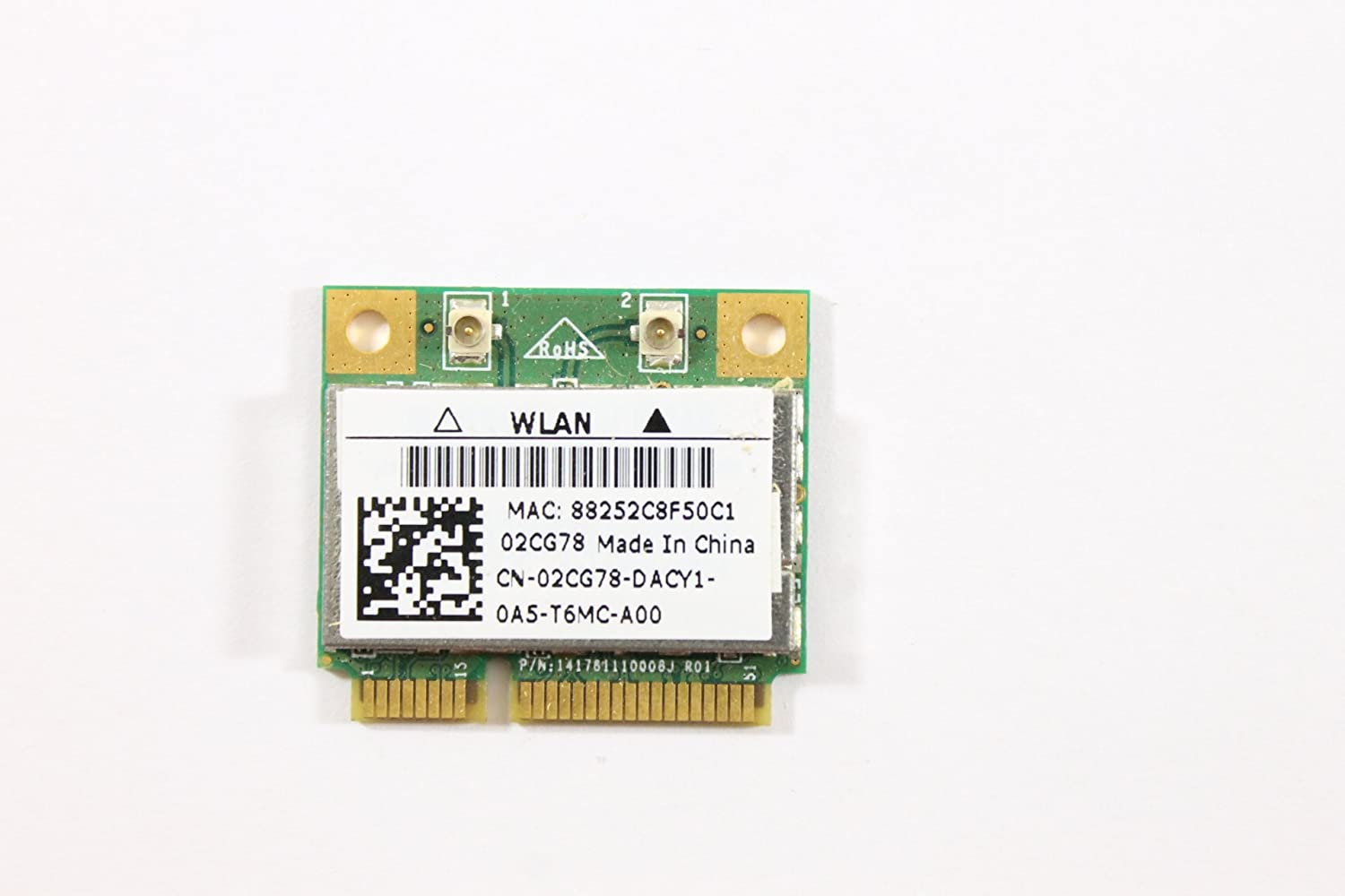 Dell Mini PCI Express Half Height 2CG78 WLAN WiFi 802.11n Wireless Card Inspiron 1121