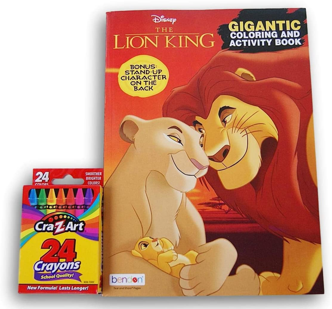 - Amazon.com: Coloring Books The Lion King Jumbo 200 Page With