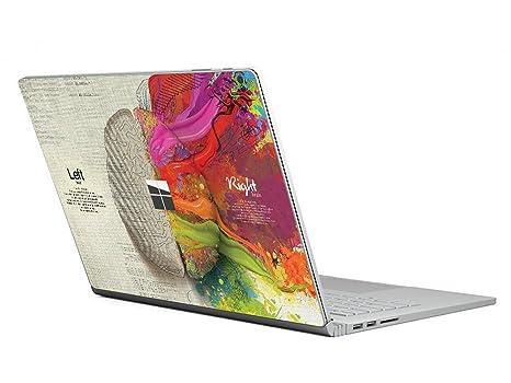 Piel Protectora de Calcomanía de la Surface Computadora Portátil ChasBete Cubierta de Pegatina de Vinilo de