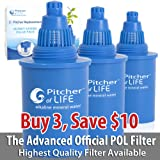 Pitcher of Life Filters Set of 3