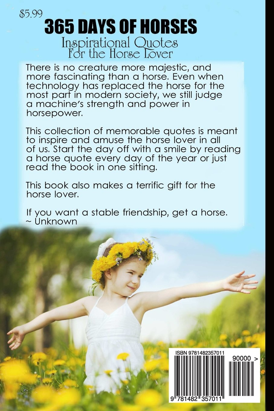 365 Days of Horses: Inspirational Quotes for the Horse Lover ...